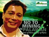 Save Palawan Movement Regina Paz Lopez