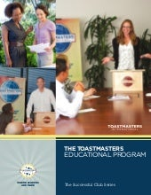 The Toastmasters Educational Progra...