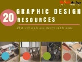 20 Graphic Design Resources That Will Make You Master of the Game