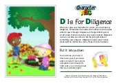 Character abc: D is for diligence