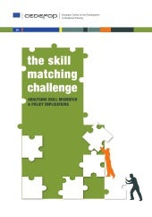 The Skill Matching Challenge - CEDEFOP
