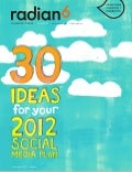 30 ideas for your 2012 social media plan