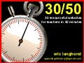 30 in 50 - 30 Great Websites for Teachers in 60 Minutes
