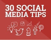 30 Social Media Tips to Increase Your Followers and Engagement