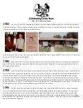 Denver's Cat Care Society - 30th Anniversary Milestones Overview.