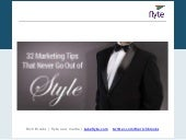 32 Marketing Tips That Never Go Out of Style