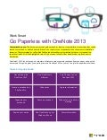 Go Paperless with Microsoft OneNote