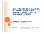 Importance of training & certificat...