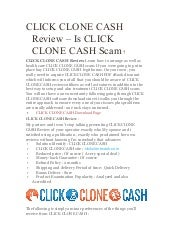 click clone cash review
