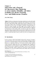Open Issues and a Proposal for Open-source Technologies to Assure Quality, Reliability, and Safety in Health Care Devices Targeting Low- and Middle-income Countries