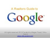 A Realtors Guide to Google