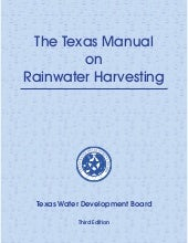 Texas Guide to Rainwater Harvesting...