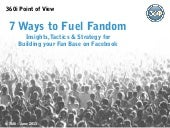 360i Report: 7 Ways to Fuel Fandom