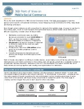 360i Report on Mobile Social Commerce