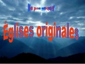 Eglises originales