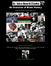 An Overview of Black History by Dr....