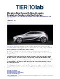 Mercedes-Benz Concept A-Class Integrates Smartphone Functions into Dash Interface