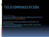 telecommunication-ppt