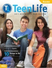 TeenLife Boston: 2011-2012 School Y...