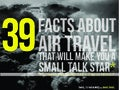 39 facts about air travel