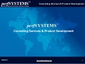 Perfsystems- Consulting Services