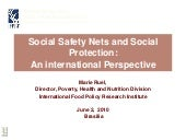 Social Safety Nets and Social Prote...