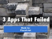 3 Apps That Failed (And What They Teach To Marketing)