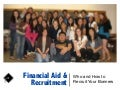Bonner Financial Aid and Recruitment BLP