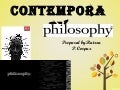 CONTEMPORARY PHILOSOPHY (REPOST)