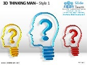 3d thinking man style design 1 powe...