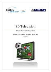 3DTV state of the art