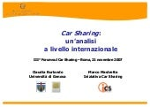 3 Forum Car Sharing Burlando Mastretta