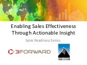 Actionable Sales Insight