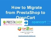 How to Migrate from PrestaShop to ...
