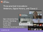 3 Practical Innovations: Webinars, ...