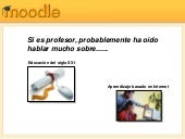Introduccion al Moodle