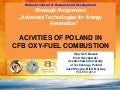 Activities of Poland in Oxy Combustion