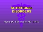 [3] Nutritional Disorders (Combined)