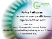Policy Pathways: The Way to Energy ...