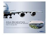 Airbus Alternative Fuels (Targeting...