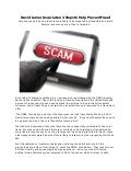 David Lerner Associates: 3 Steps to Help Prevent Fraud Scams