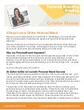 3 Steps To Creating A Personal Brand