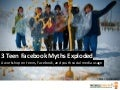 (mobileYouth) Exploding Teen Facebook Myths