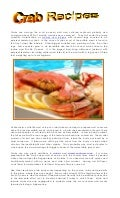 4.13.13 crab recipes