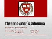 The innovators Dilemma by Aki Inoue...