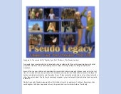 The Pseudo Legacy - Chapter Four, P...