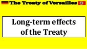 4. long term effects of the treaty