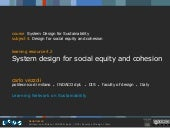 4.2 system design for social equity...