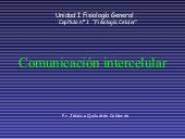 4. Comunicacion Intercelualr