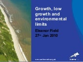Eleanor Field: What Might Low Growt...